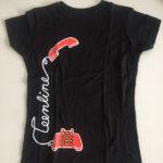 TL shirt black front